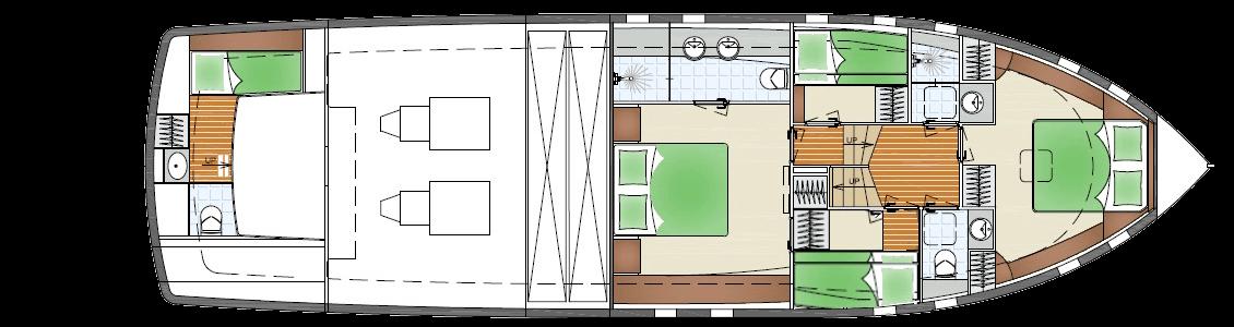 GA Jetten Bommelaer 65 Lower Deck